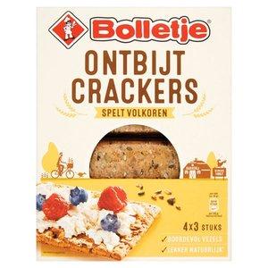Ontbijtcrackers spelt.