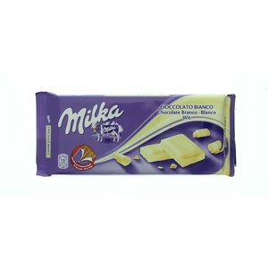 Milka tablet wit